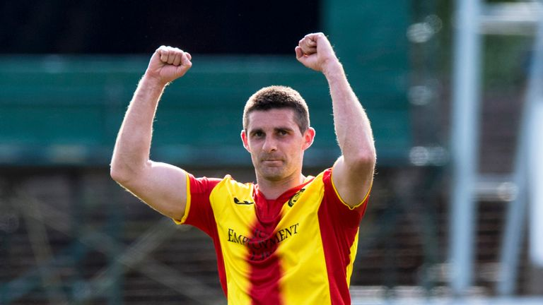 Kris Doolan was the hero for Partick Thistle