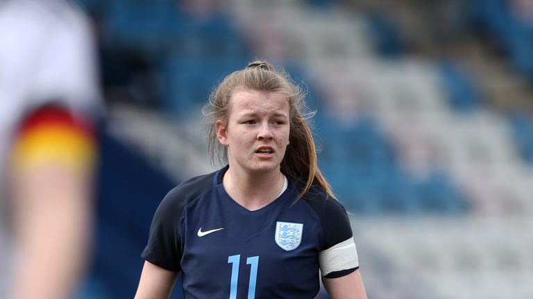 Lauren Hemp won the England Young Player of the Year award in 2017