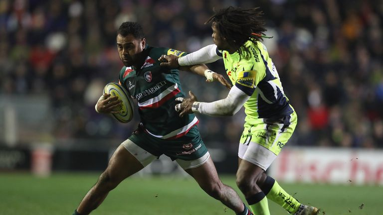 Sale must beat Leicester at the AJ Bell Stadium if they are to force their way into the play-off picture