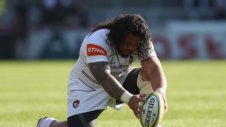 Logovi'i Mulipola signed off his time with Leicester Tigers in style