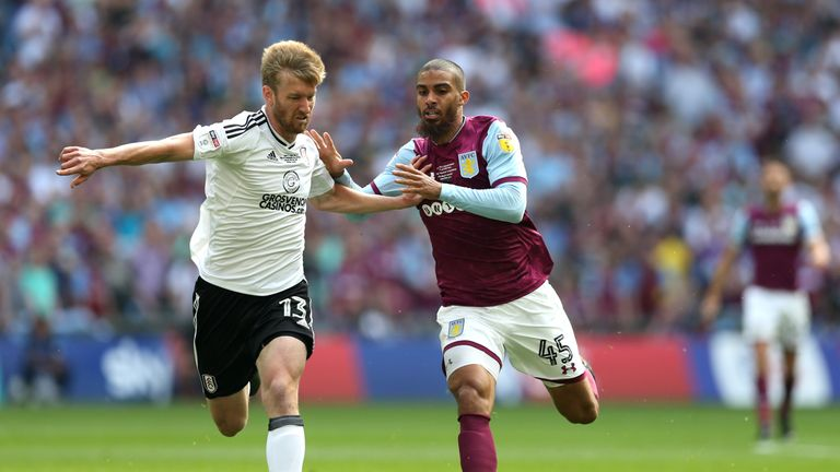 Villa missed out on promotion after losing to Fulham in the Championship play-off final