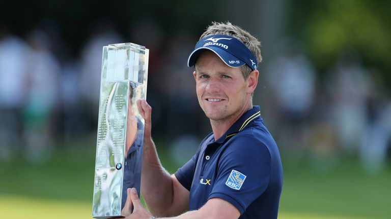 Luke Donald took over from Westwood after beating him at Wentworth in 2011