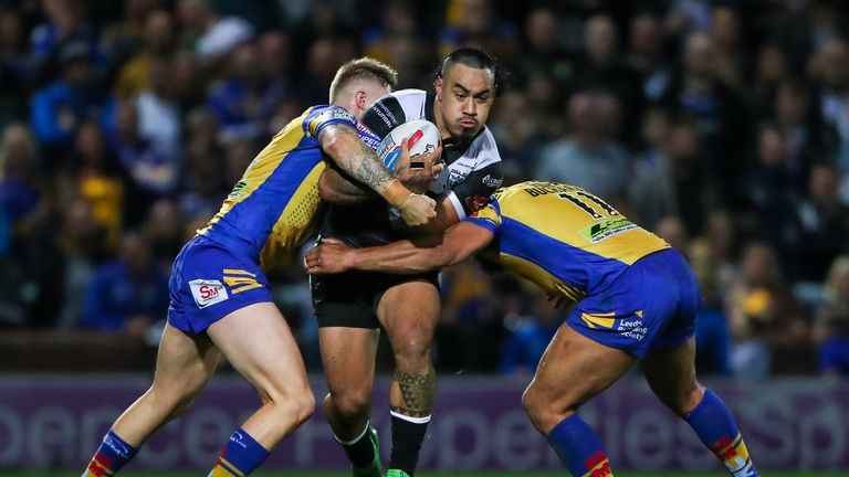 Mahe Fonua in action during his time at Hull FC