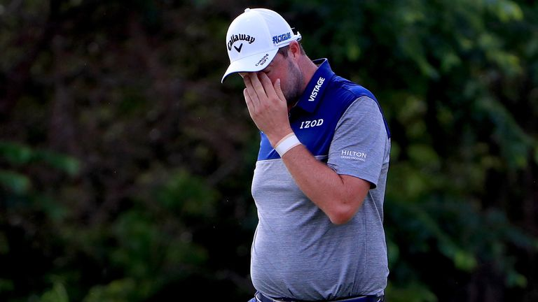 Marc Leishman held at least a share of the lead in each of the first three rounds