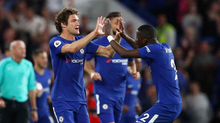 Chelsea face Manchester United in the FA Cup final on Saturday
