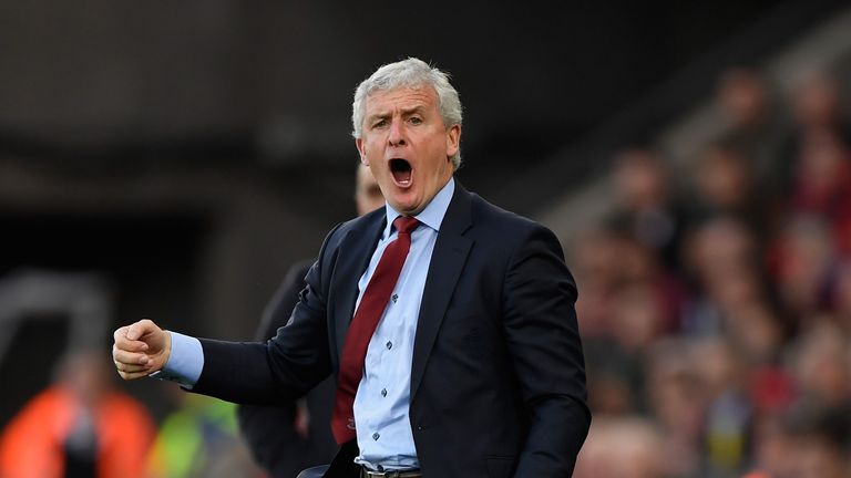 Mark Hughes has guided Southampton to the brink of Premier League safety