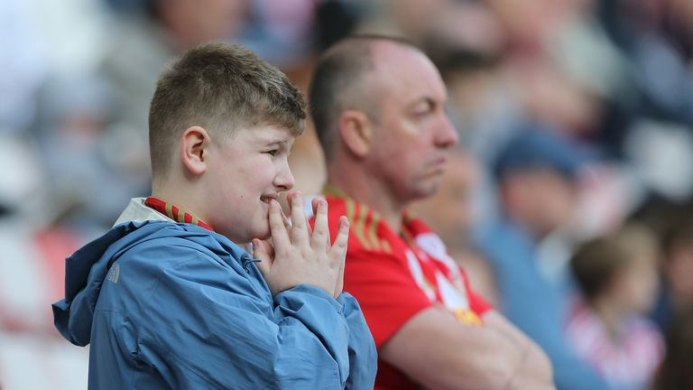 Sunderland fans react to relegation into League One