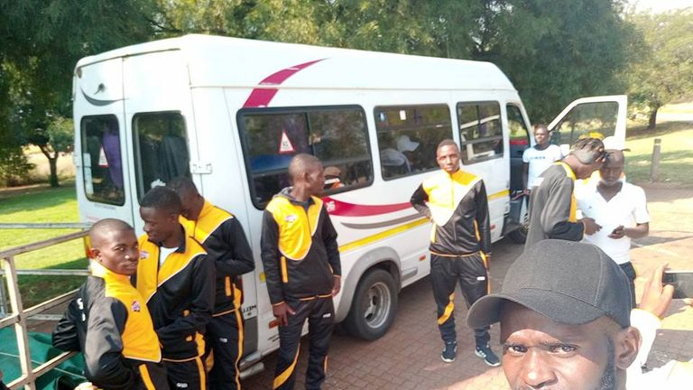 Matabeleland played 12 friendlies against Zimbabwean club teams to earn qualification for London 2018 through a points system