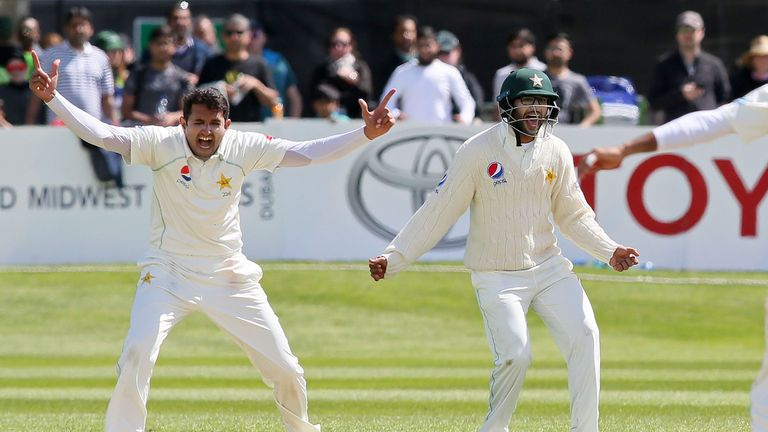 Mohammad Abbas has the ability to cause havoc with the swinging ball