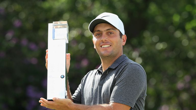 Francesco Molinari won his fifth European Tour title with victory at the BMW PGA Championship