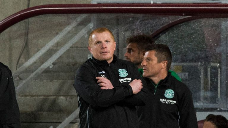Neil Lennon endured a night of frustration at Tynecastle