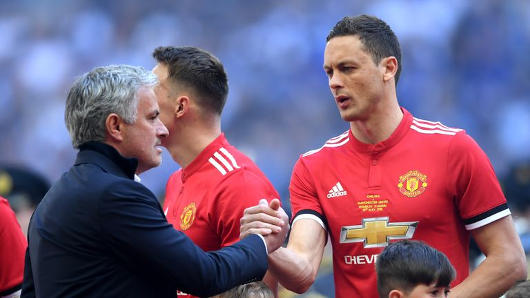 Matic has played no part in United's International Champions Cup campaign