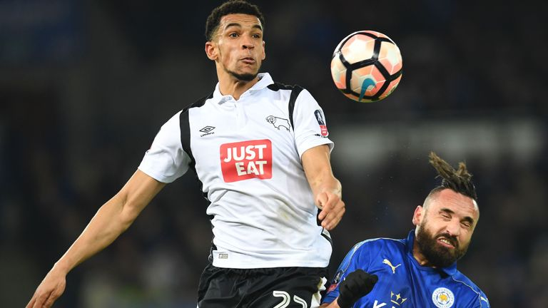 Blackman made 23 league appearances for Derby from 2016 to 2019