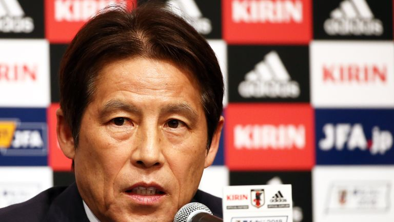 Akira Nishino took over over with 10 weeks to work with the squad