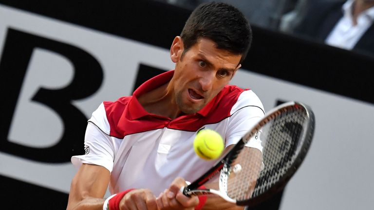 Djokovic will take on Nishikori for a place in the semi-finals