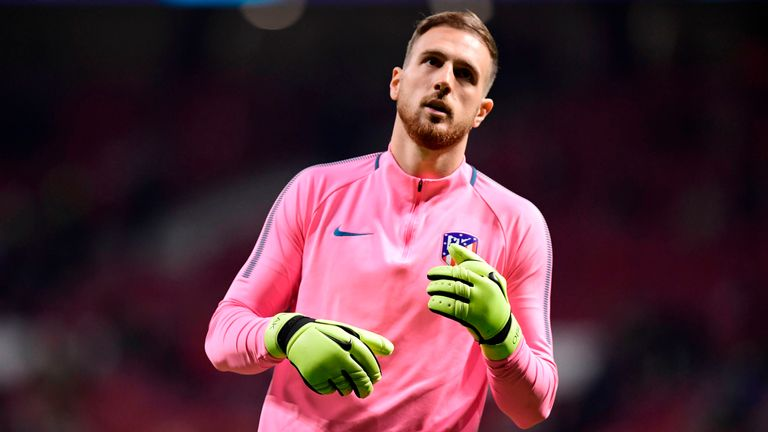 Jan Oblak has put contract talks on hold