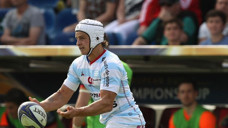Lambie starts at fly-half for Racing 92
