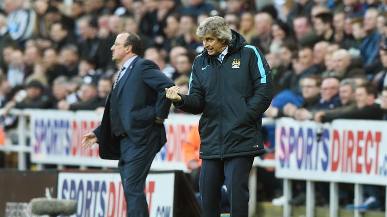 Pellegrini won the Premier League in his three-year spell at Man City