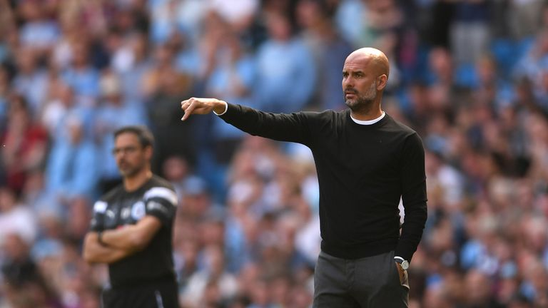 Pep Guardiola's Manchester City broke numerous records on their way to winning the Premier League