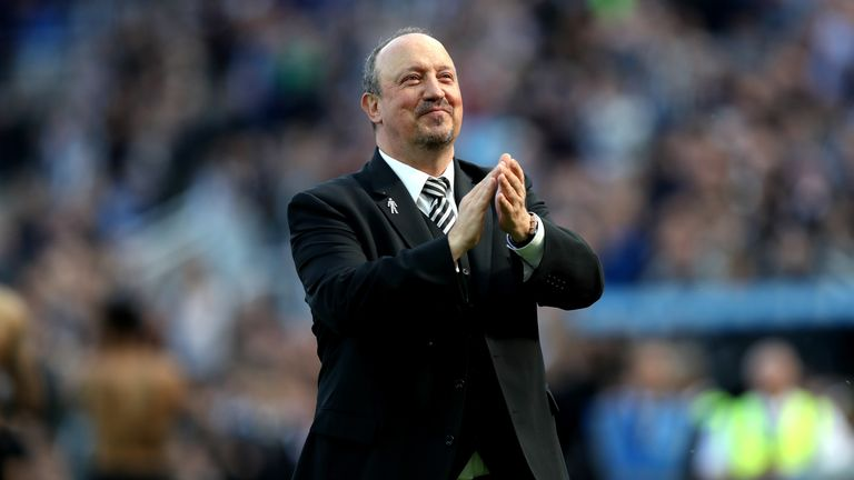 Newcastle United's Rafael Benitez