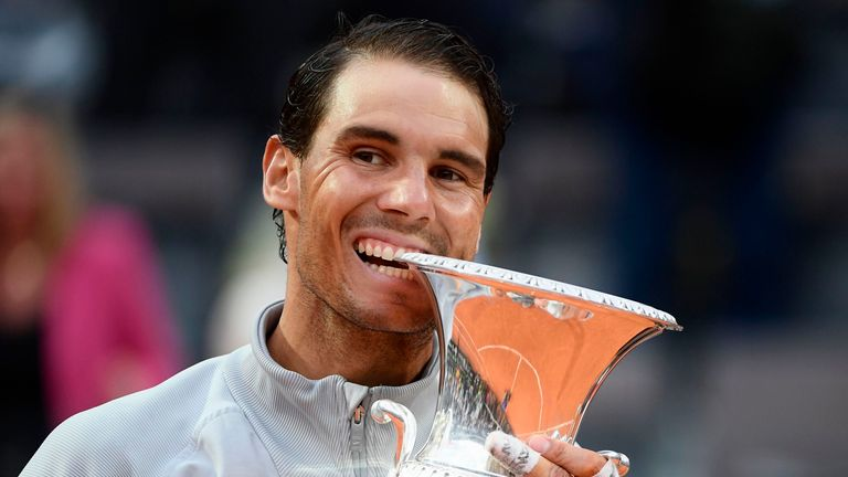 Nadal is back on top of the world after his win in Rome