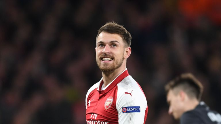 Aaron Ramsey has been linked with a move to Lazio