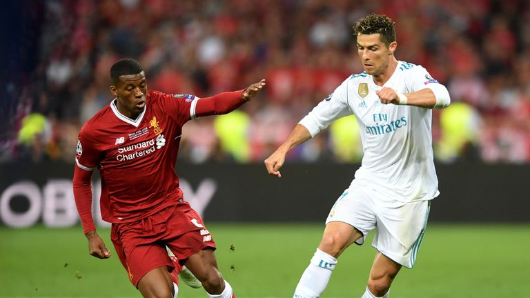 Ronaldo failed to score in Kiev but Real Madrid prevailed 3-1 against Liverpool