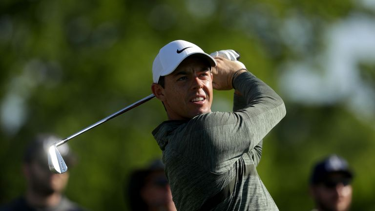 Rory McIlroy vowed to be disciplined and conservative off the tee