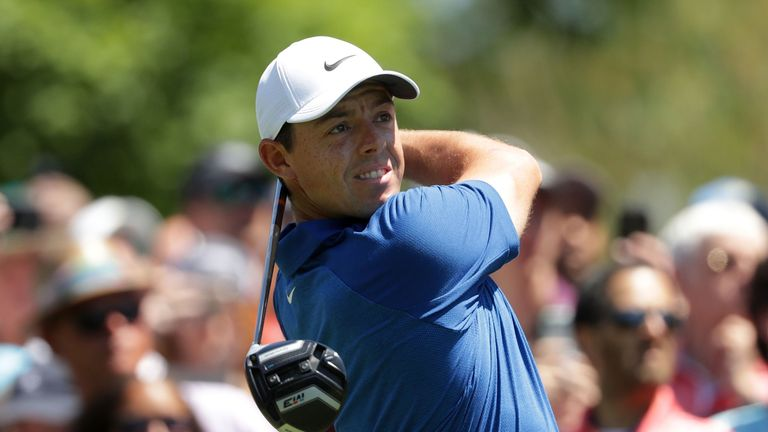 McIlroy is fully aware of the need to be cautious off the tee