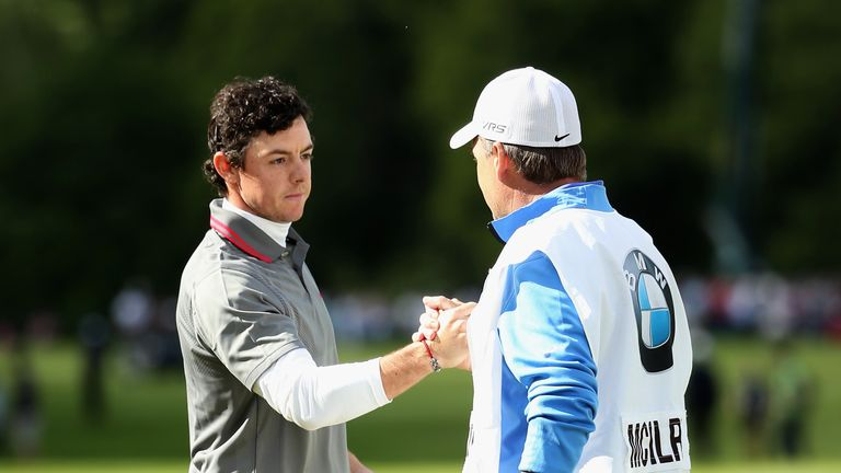 Victory moved McIlroy back to world No 6