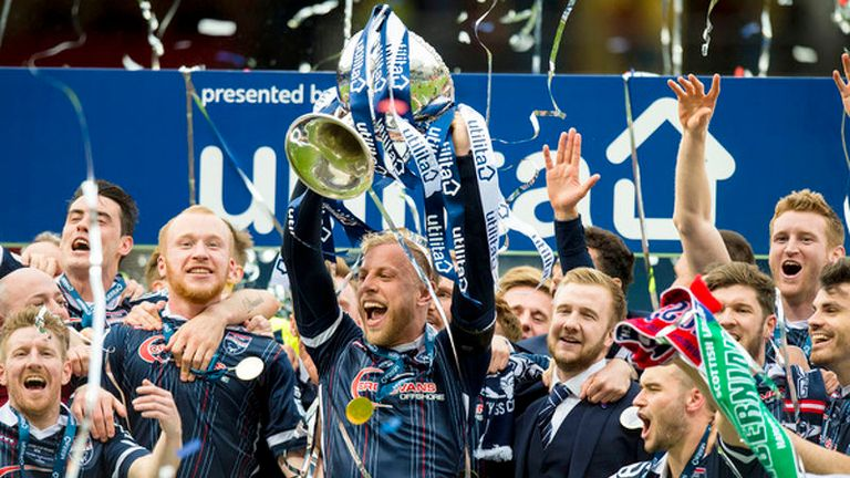 Ross County won the League Cup in 2016