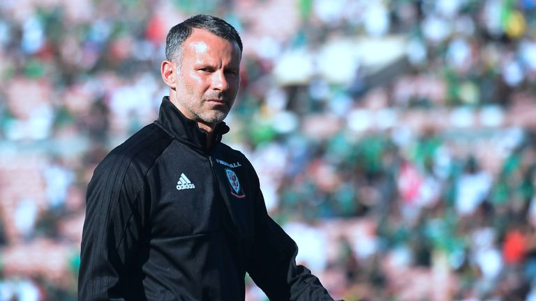 Ryan Giggs and Wales are a win away from Nations League promotion