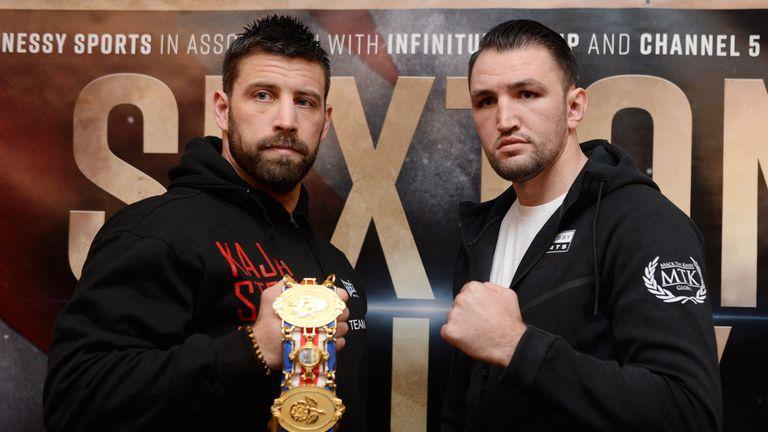 Fury challenges Sam Sexton for the British belt on Saturday night
