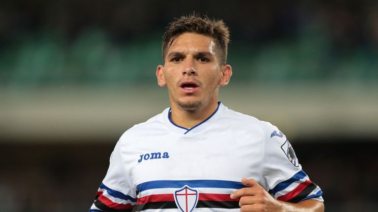Torreira has been a regular for Sampdoria the past two seasons