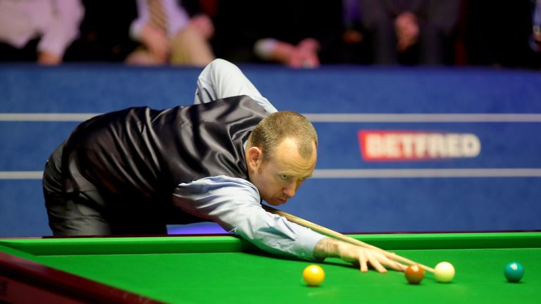 Williams missed a match ball in the 33rd frame but he was not to be denied