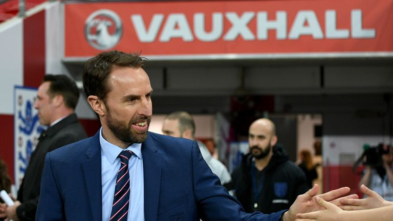 Gareth Southgate is preparing to lead England on the biggest stage of all