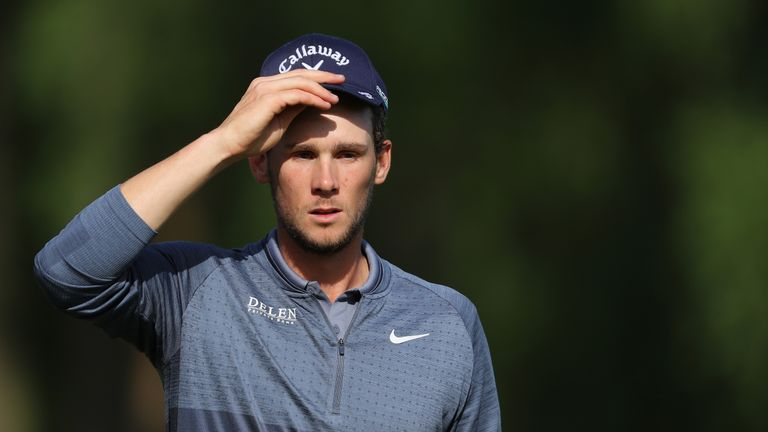 Thomas Pieters faces a battle to make the weekend knockout stage