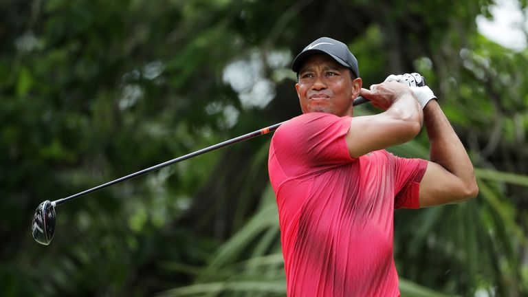 Woods ended the week in a share of 11th