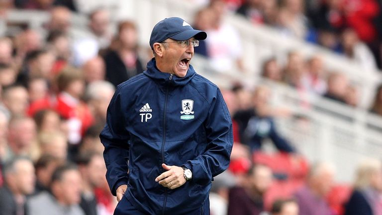 Pulis has thanked Gibson for his professionalism and service at Boro