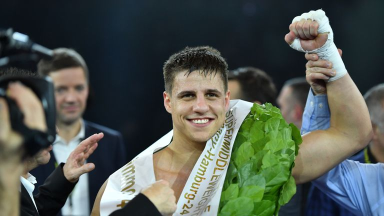 Tyron Zeuge will be making the fourth defence of his WBA 'World' title