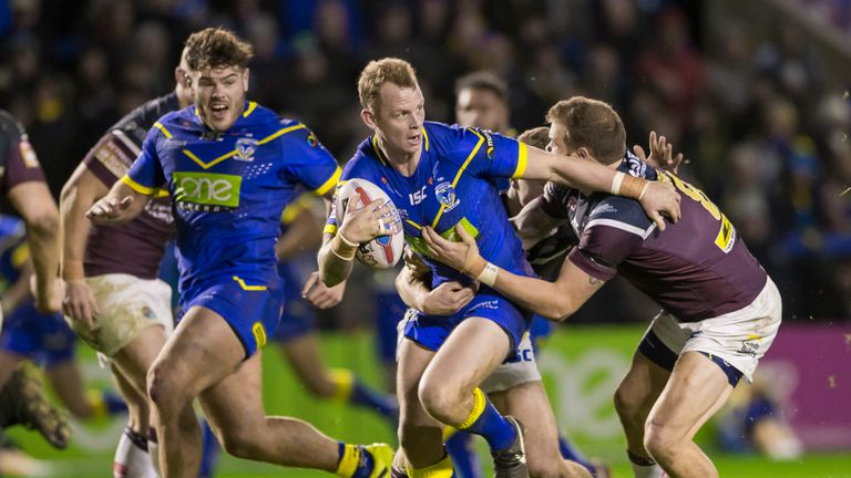 Warrington's Kevin Brown has provided eight assists this season