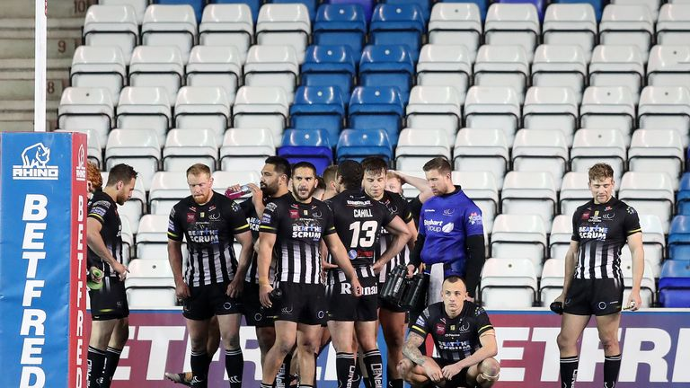 Widnes will end the regular season rock bottom of Super League