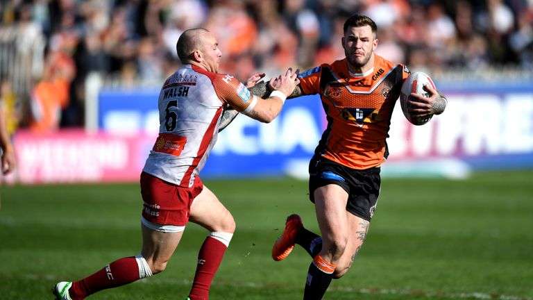 Zak Hardaker has been banned for 14 months after testing positive for cocaine