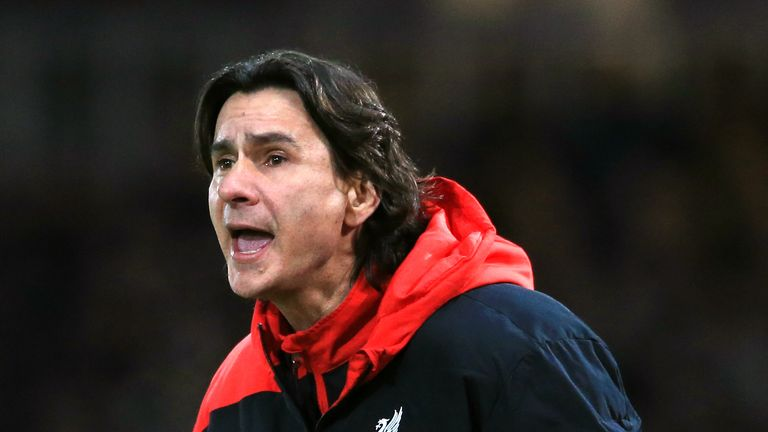 Zeljko Buvac has temporarily left his role as Liverpool assistant manager