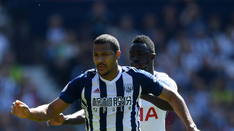 Salomon Rondon is a target for Cardiff City following West Brom's relegation