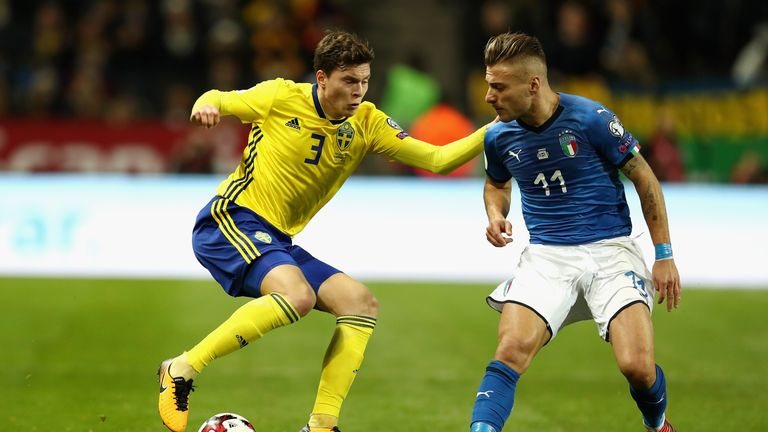 Lindelof in action as Sweden stunned Italy to make Russia