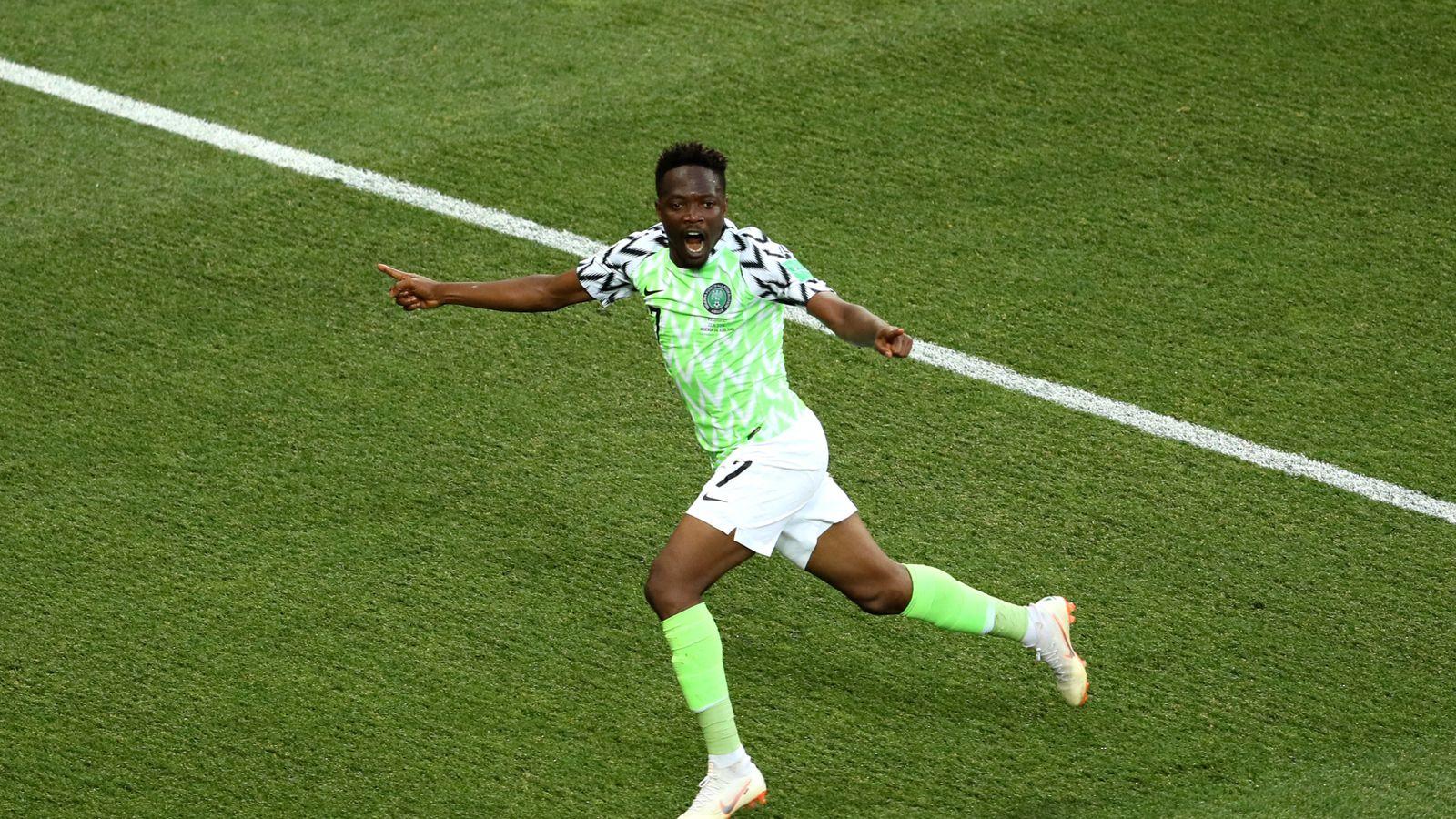 dc10a660d Nigeria 2 - 0 Iceland - Match Report   Highlights