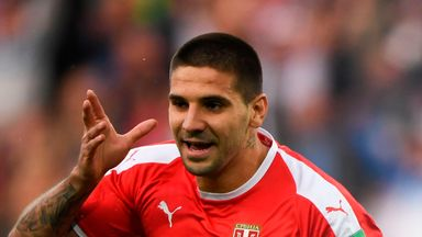 fifa live scores -                               Mitrovic named Serbian Player of the Year