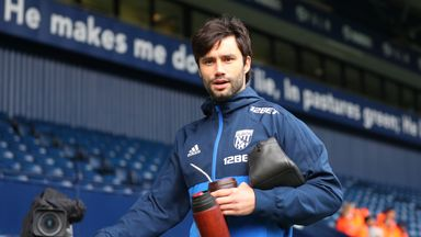 Claudio Yacob was a free agent after leaving West Brom at the end of last season