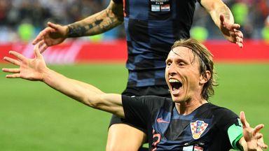 Luka Modric led Croatia to the World Cup final